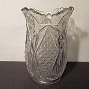 EAPG Pattern Glass Celery Vase
