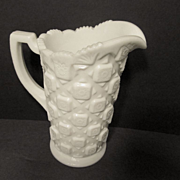 Old Quilt Westmoreland Pitcher, 1 pint