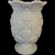 """Westmoreland Old Quilt 6.5""""  Celery Vase"""