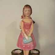 Enesco Figural Lipstick Holder #E-3841