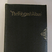 1915 The Folygraft Album, Shown to the New Neighbor by Rebecca Sparks Peters, Drawings/Text by Frank Wing, Reilly & Britton Co