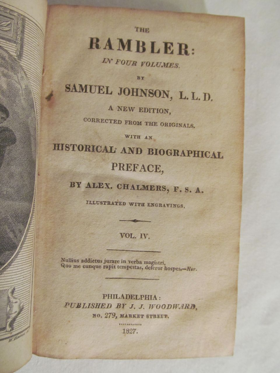 """samuel johnson essays rambler About selected essays this volume contains a generous selection from the essays johnson published twice weekly as """"the rambler"""" in the early 1750s it was here that he first created the literary character and forged the distinctive prose style that established him as a public figure."""