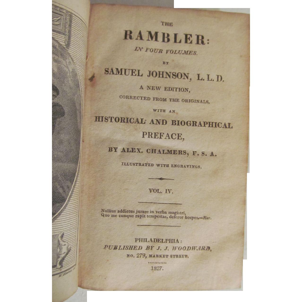 rambler essays samuel johnson
