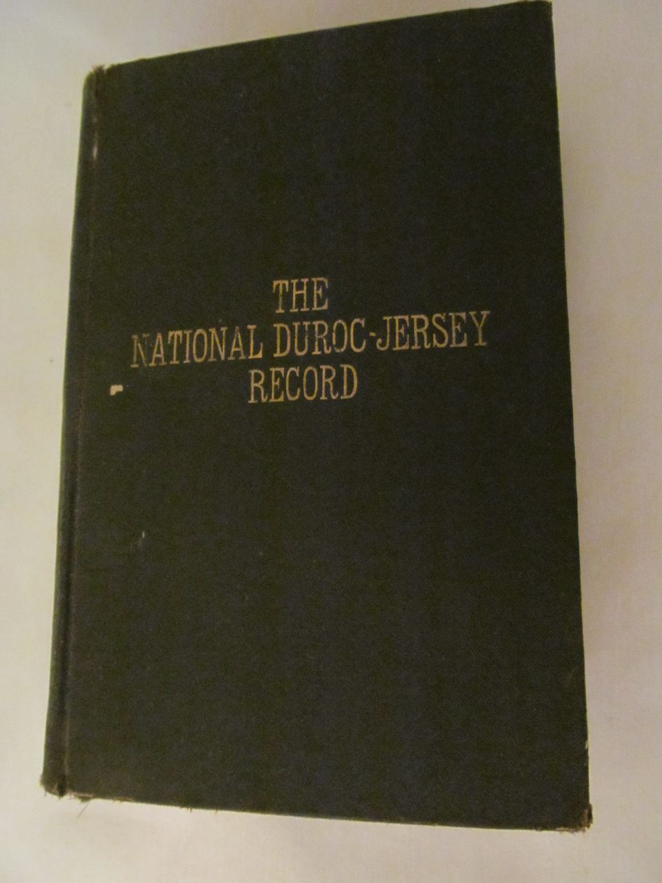 1919 The National Duroc-Jersey Records Association, Volume 65