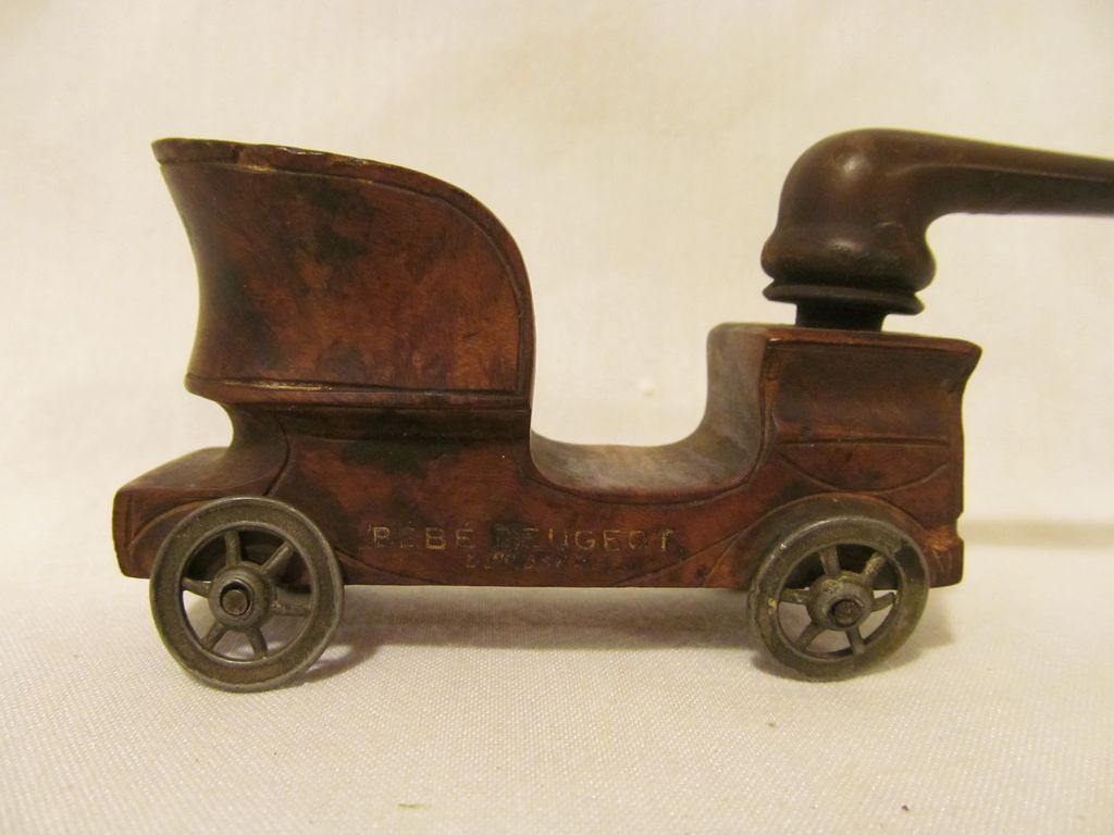 Bebe Peugeot Car Tobacco Pipe, French,Rare!
