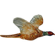 Vintage Beswick Large Pheasant Wall Plaque 661/1