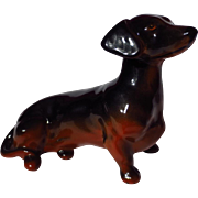 Vintage Beswick Seated Dachshund Figurine Model 1460