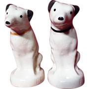 Vintage Nipper RCA Victor Dog Salt & Pepper Set