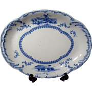 Vintage Ridgways Delft Oval Serving Platter