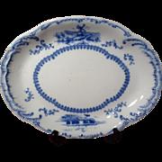 Vintage Ridgways Delft Oval Serving Platter
