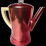 Vintage West Bend Flavo-Matic Copper Red Aluminum Percolator