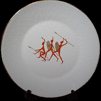 Mid Century Modern Rosenthal China INKA Charger