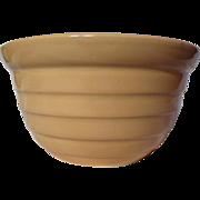 Brush Pottery Advertising Ringware Mixing Bowl