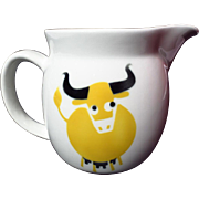 Arabia Finland Kaj Franck Yellow Cow Small Pitcher
