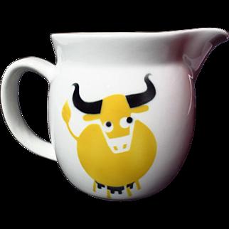Arabia Finland Kaj Franck Yellow Cow Small Pitcher