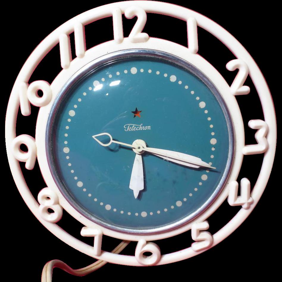 Vintage Telechron Electric Clock Ge Canada Quot The Decorator