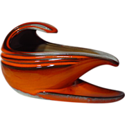 Beauce Pottery Cartier Le Flambe Gravy Boat