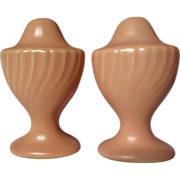 Franciscan Coronado Coral Matte Salt & Pepper Shakers