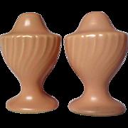 Franciscan Coronado Coral Matte Salt & Pepper Shakers