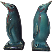 Beswick Model 450B Penguin Figurine Set ~ Gloss Blue
