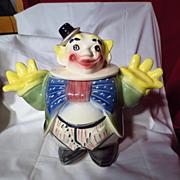 Vintage Maurice of California Clown Cookie Jar