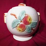 Robinson Ransbottom Pottery RRP Co Apple Cookie Jar