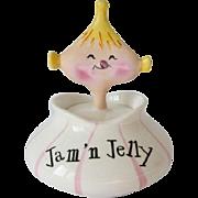 Vintage Holt Howard Pixieware Jam 'n Jelly Jar