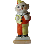 Vintage Clown Figural Tooth Brush Holder
