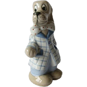 Royal Dux Cartoon Beagle Dog Figurine