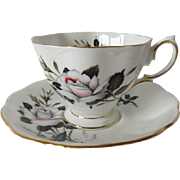Royal Albert QUEEN'S MESSENGER Patterned Tea Cup and Saucer