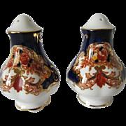 Royal Albert HEIRLOOM Pattern Salt & Pepper Shakers