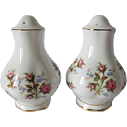 Royal Albert WINSOME Pattern Salt and Pepper Shakers
