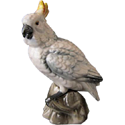 Vintage Cockatoo Fogurine - Shafford Bird Collection