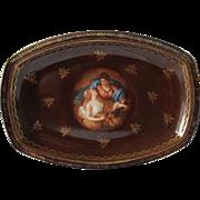Moritz Zdekauer (MZ) Austria Large Victorian Platter