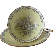 "Paragon ""To The Bride"" Tea Cup and Saucer"