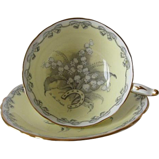 """Paragon """"To The Bride"""" Tea Cup and Saucer"""