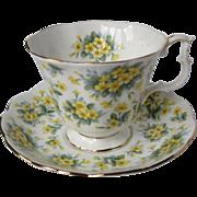 "Royal Albert Nell Gwynne Series ""DRURY LANE"" Tea Cup Set"