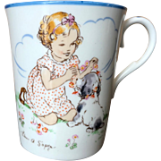 Early Paragon China Playtime Series Mug by Eileen Soper