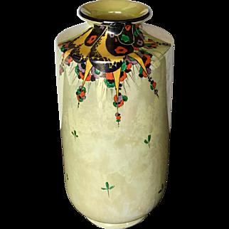 Stunning Shelley Art Deco Lustre Vase c. 1920's