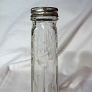 Art Deco Dominion Glass Shaker