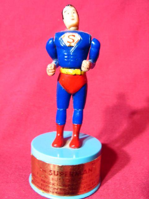 Vintage 1966 I'm Superman Kohner Push Puppet