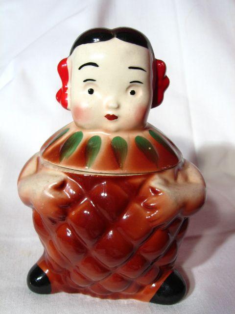 Vintage PeeDee Penny Pineapple Jam Condiment Jar