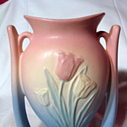 Hull Pottery Sueno Tulip Suspended Vase