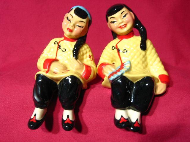 Ceramic Arts Studio Sun-Li & Su-Lin Shelf Sitters