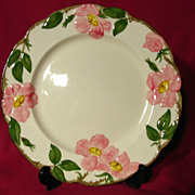 Franciscan Desert Rose Dinner Plate - 1949-53
