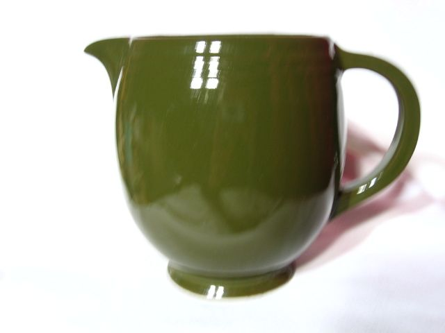 Hall China Green 5 Band 1 1/2 Pint Jug