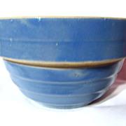 """Vintage Western Stoneware Mini 5"""" Mixing Bowl"""
