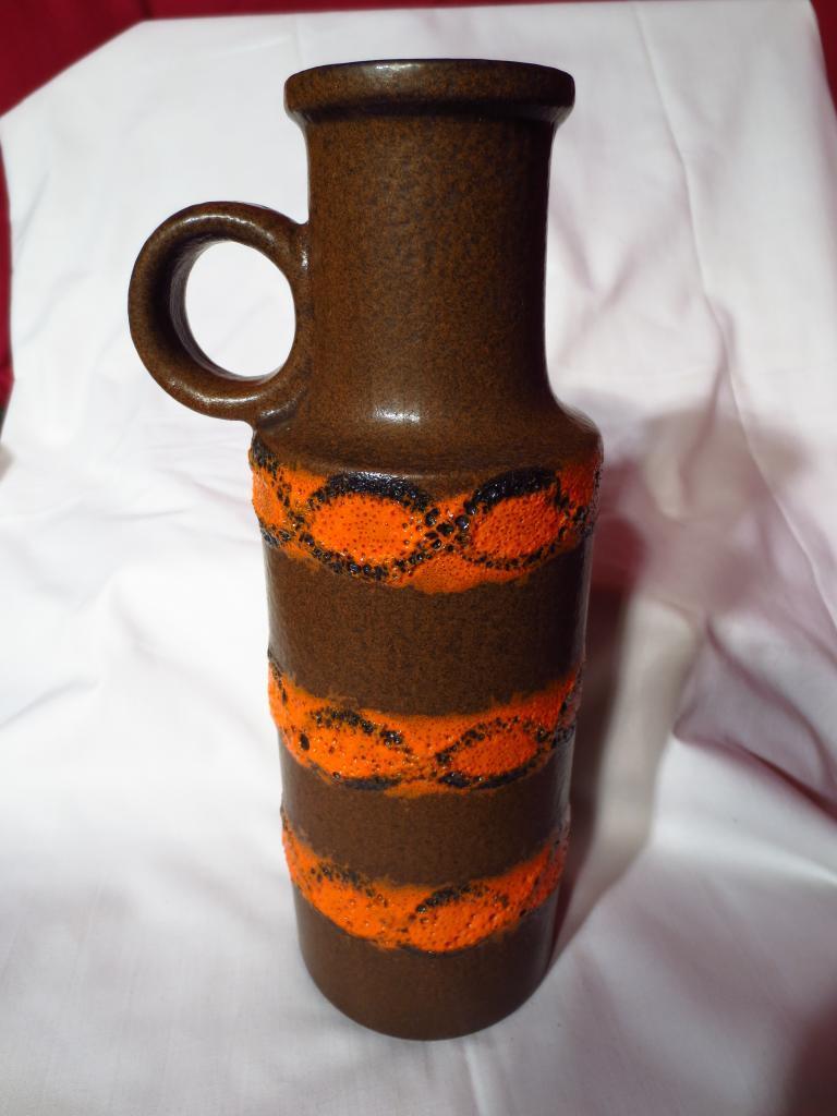 Retro West Germany Scheurich Fat Lava Vase ~ Model 401-28