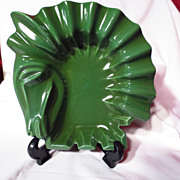 Vintage Red Wing Trojan Horse Head Ashtray