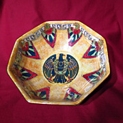 Royal Winton Art Deco Byzanta Ware Luster Octagonal Bowl